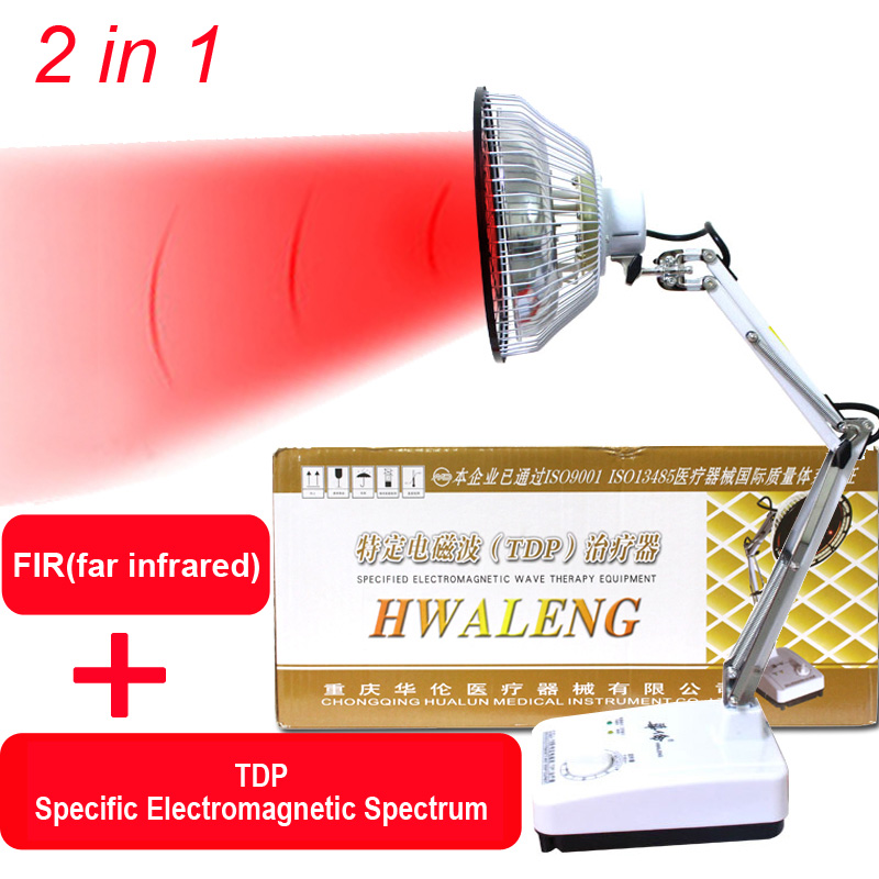2-in-1 TDP Infrared Mineral Heat Therapy Lamp