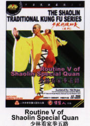 THE SHAOLIN TRADITIONAL KUNG FU SERIES - Routine V of Shaolin Special Quan