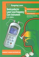 Semiconductor Laser/Low-Frequency Cure Instrument