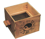 Traditional Moxa Box w/ lid