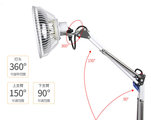 Acupuncture Mineral TDP Lamp 110V or 220V/ Far infrared lamp/ Infrared lamp therapy