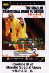 THE SHAOLIN TRADITIONAL KUNG FU SERIES - Routine III of Shaolin Special Quan